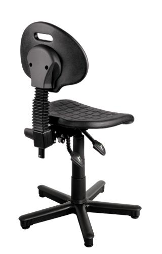 Krzesło warsztatowe Tulip synchro