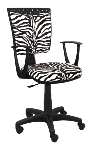 Krzesło Zwierzak zebra
