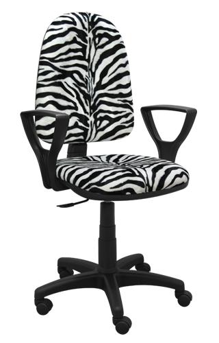 Krzesło Bred zebra
