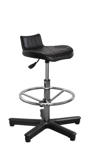 Krzesło laboratoryjne Tab 1 w