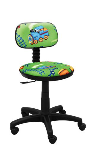 Krzesło dla dzieci obrotowe Junior train zielony