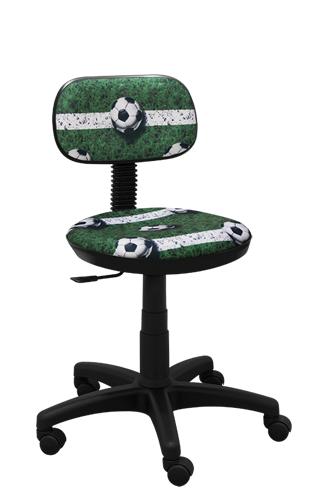 Krzesło biurowe Junior futbol zielony