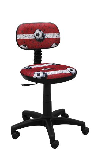 Krzesło dziecięce Junior futbol czerwony